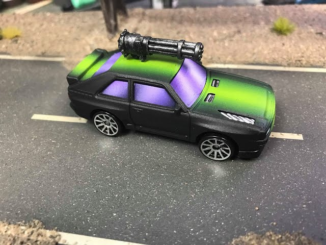 How to make cars for Gaslands Part 2 Custom Paint Jobs