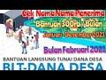 - Cek Nama Nama Penerima BLT Dana Desa 300 Ribu/Bulan Tahun 2021