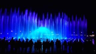 Aquanura water light show @ De Efteling (Europe