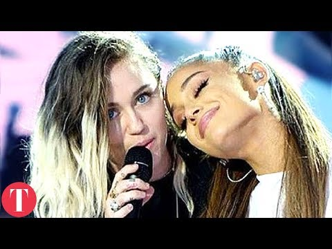 There's Something Strange Happening With Miley Cyrus And Ariana Grande Friendship Mp3