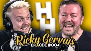 RICKY GERVAIS | Befriending David Bowie, After Life & the Perfect Joke | JHHP #4