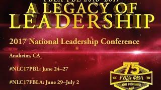 2017 fbla pbl national leadership conference promo