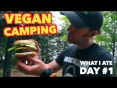 How to Start a Campfire - What I ate ( Beyond Burger )