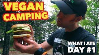 Vegan Camping - What to Eat? ( Beyond Burger )