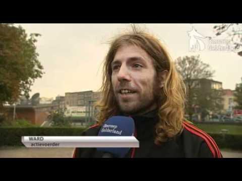 Handjevol Occupy'ers in Nijmegen