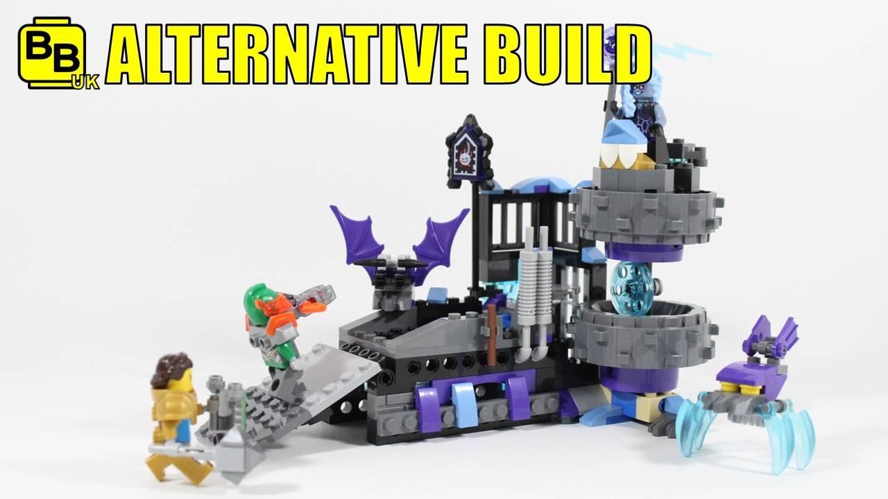 Lego Nexo Knights Set Builds