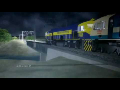 MSTS WDG4 D and WDG 4 with trailer freight
