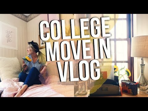 NYC COLLEGE MOVE IN VLOG 2017! Moving to NYC for College!