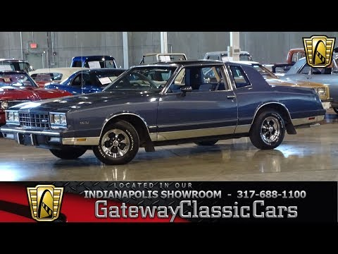 1983 Chevrolet Monte Carlo, Gateway Classic Cars - Indianapolis #1193