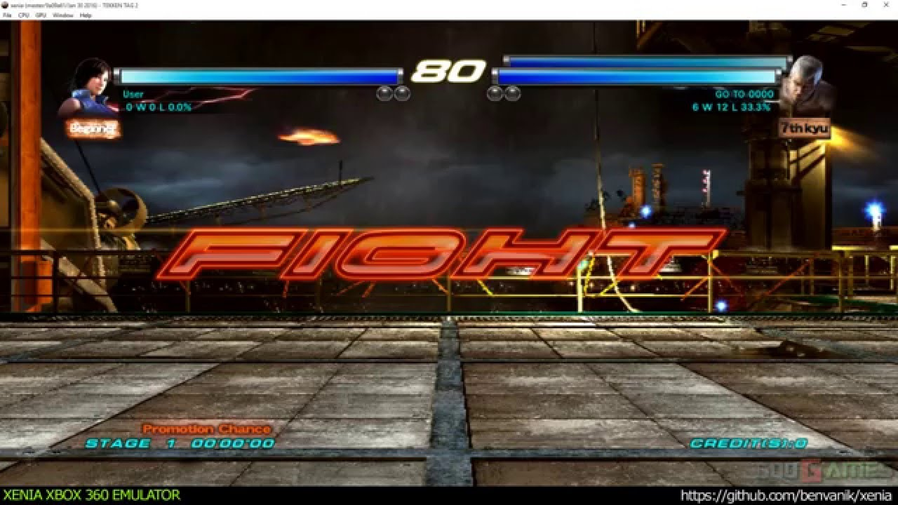 Xenia Xbox 360 Emulator - Tekken Tag Tournament 2 ingame!