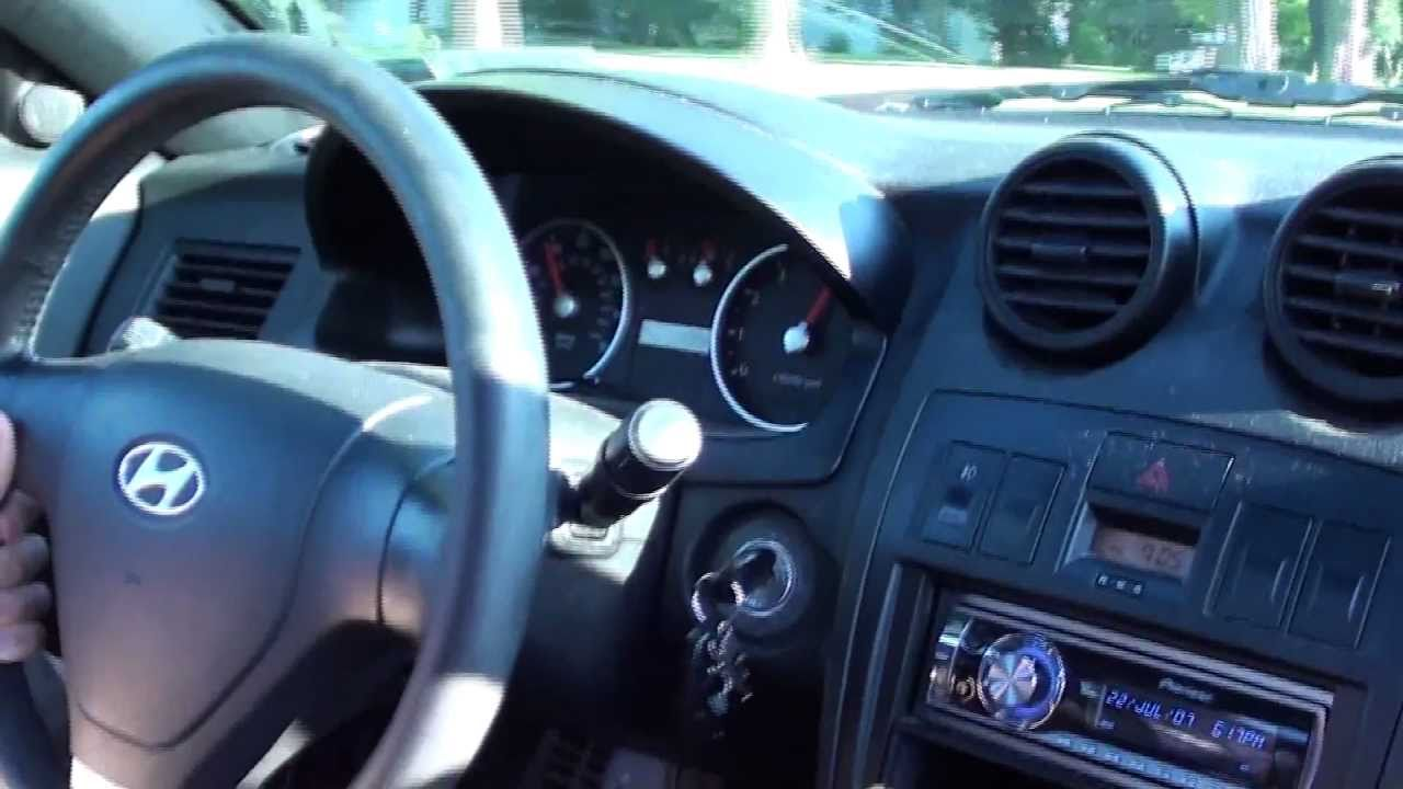 2003 Hyundai Tiburon Gt V6 Stock 6 Speed 0 120 Mph Youtube