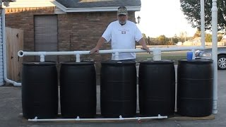 DIY Rain Barrel System Explained