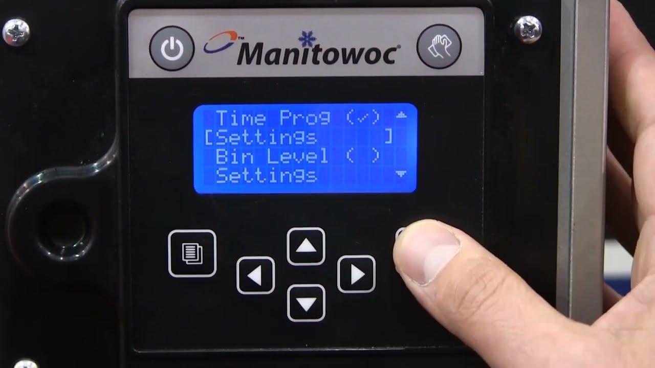 manitowoc ice machines indigo series