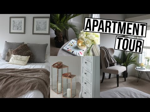 IRISH APARTMENT TOUR 2018 | Cosy & Neutral Bedroom & Bathroom