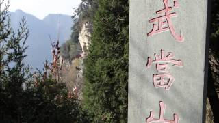 Ascending WUDANG Mountains .........UNESCO World Heritage Site !