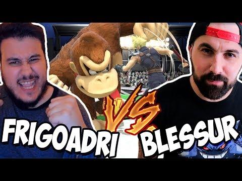 FRIGO VS BLESSUR en SUPER SMASH BROS ULTIMATE thumbnail