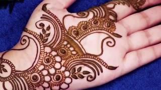 Easy Arabic Mehndi Design For Hands | Super Easy Quick Arabic Mehndi Designs for full Hands
