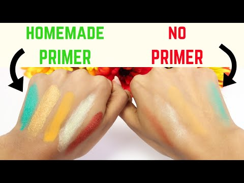 How to Make Face and Eyeshadow Primer at Home