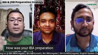 IBA & JOB Preparation Strategy