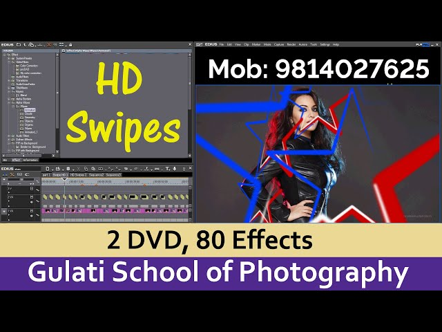 10 HD Swipes | Effects For Edius 7, 8,9 Software | Transistion Effects | Alpha Effects ( 80 Wipes )