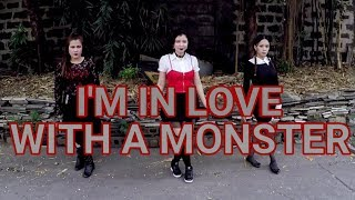 I'M IN LOVE WITH A MONSTER | Fifth Harmony | Halloween Edition | JM