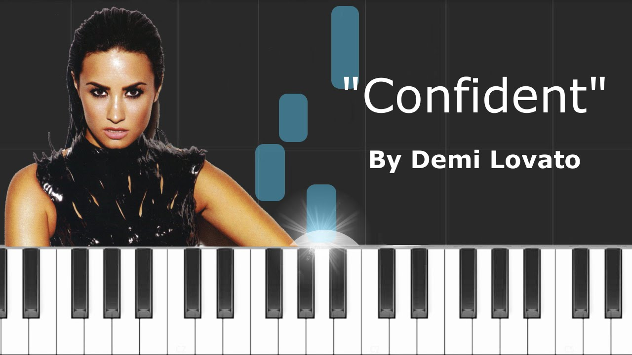 Demi lovato confident piano tutorial chords how to play demi lovato confident piano tutorial chords how to play cover hexwebz Images