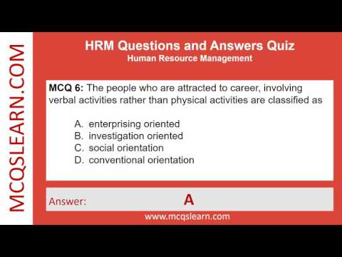HRM Questions and Answers - MCQsLearn Free Videos - YouTube