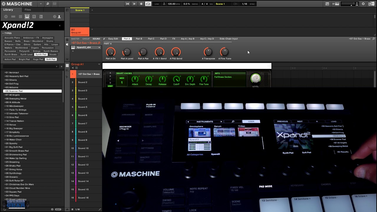 AIR Music Tech Xpand!2 NKS Preset Pack for Maschine & Komplete Kontrol