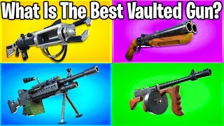 RANKING EVERY WEAPON EVER REMOVED FROM FORTNITE! (reupload)