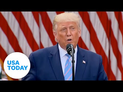 Trump announces plan to distribute 150 million rapid COVID-19 tests in coming weeks | USA TODAY