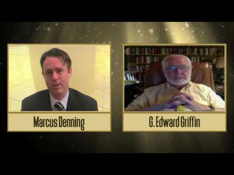G Edward Griffin discusses the global banking scam, the global economic collapse