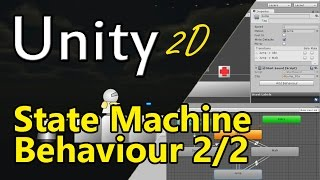 #10 Unity 2D - State Machine Behaviour vs. MonoBehaviour - Audio optimieren - Unity3D Tutorial