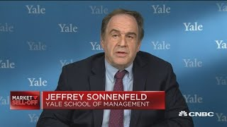 We can't back down on China, says Jeffrey Sonnenfeld
