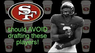 49ers should AVOID these players