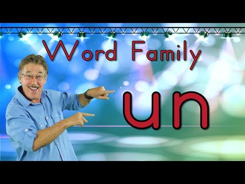 Word Family -un   Phonics Song For Kids   Jack Hartmann