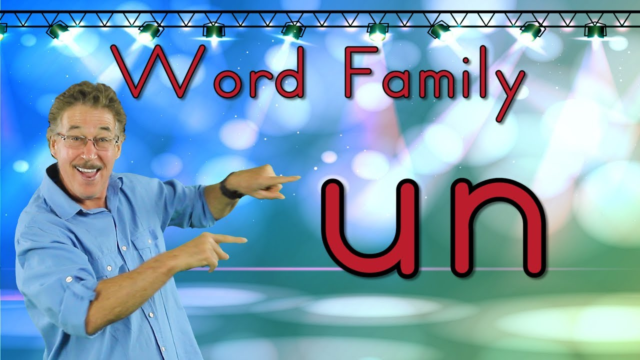 Word Family -un | Phonics Song for Kids | Jack Hartmann ...  Word Family -un...