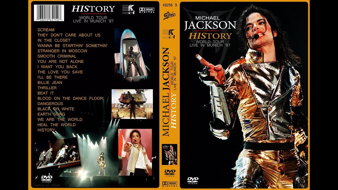 Download Michael Jackson History World Tour Live in Munich 1997 (HD)