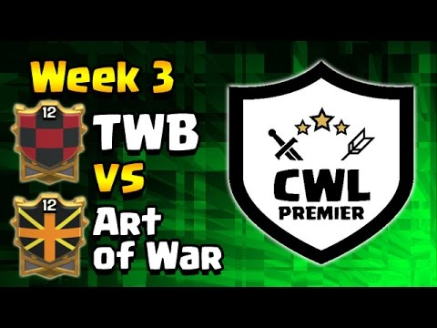 Clash of Clans: CWL Premier WEEK 4: TWB vs Art of War WAR RECAP