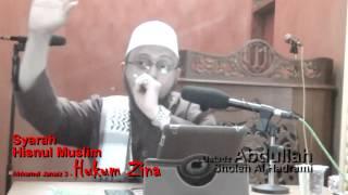 syarah hisnul muslim bab ahkamul janaiz 3 hukum zina   ustadz abdullah sholeh al hadrami