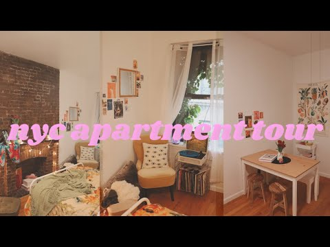my nyc studio apartment tour! thumbnail