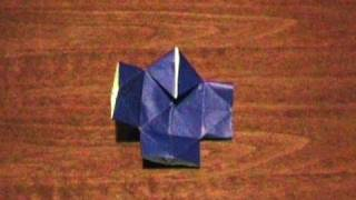 How to make an Origami Yakko-San (Multiform - Form 14) ...for all (55)