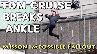 Tom Cruise Breaks Ankle - Mission Impossible Fallout Stunt and Jackie Chan