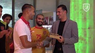 يوسف العربي يفوز بجائزة المجلس كأفضل لاعب في الدوري عن شهر أكتوبر