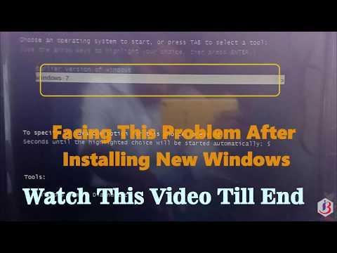 Earlier Version Windows Windows Vista Windows 7  Multiple OS Selection Screen While Booting