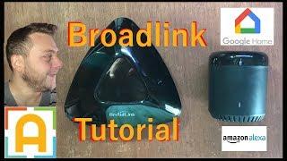 Comandare tv con google home e Amazon alexa grazie Broadlink rm mini 3 e pro+ tutorial