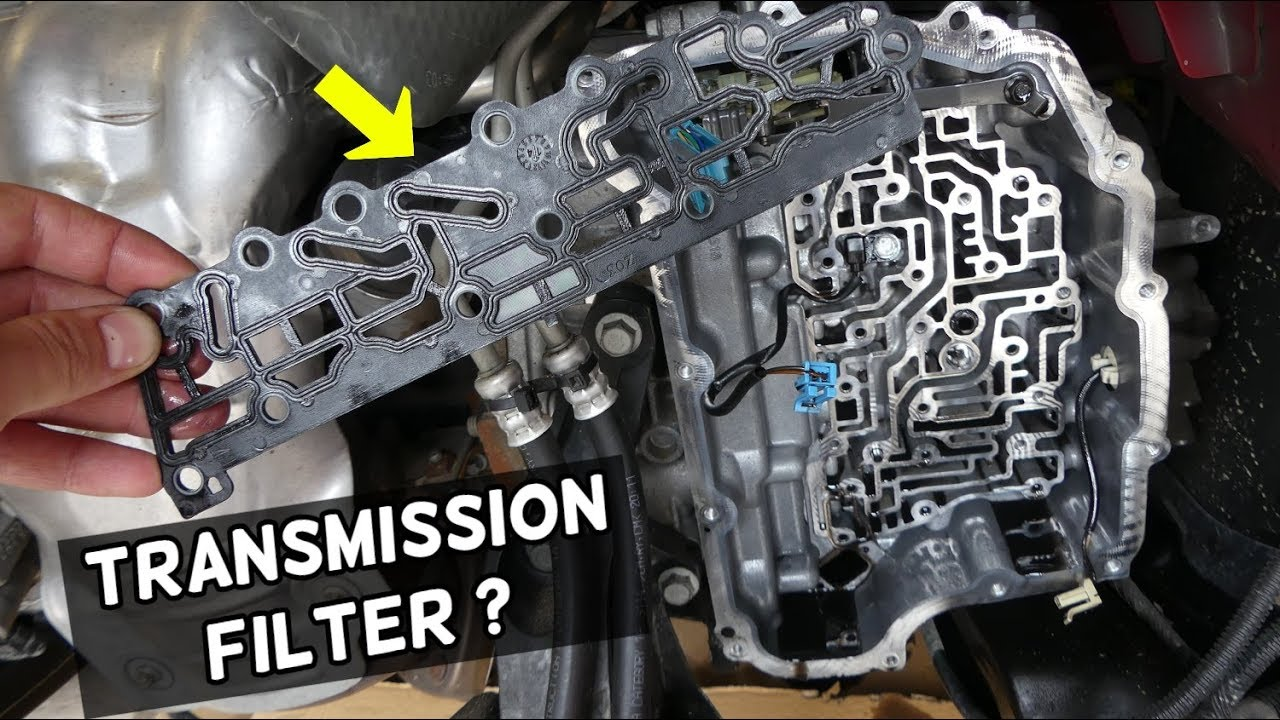 Transmission Oil Filter Location Replacement Chevrolet Cruze Sonic