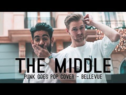 """The Middle"" - Zedd ft. Maren Morris, Grey (Punk Goes Pop Cover by Bellevue)"