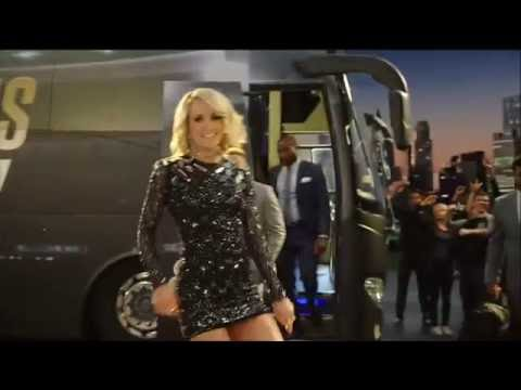 New Sunday Night Football intro - featuring Carrie Underwood
