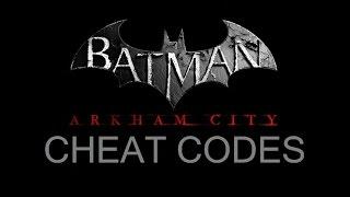 COM; Batman; Arkham City; Command Cheat Codes
