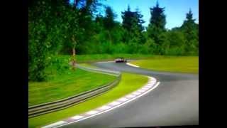 corvette race car pc game play Nordschleife GTR Evolution
